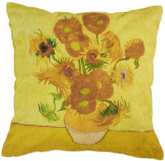 Beddinghouse x Van Gogh Museum Sunflower Sierkussen Yellow 45 x 45 cm