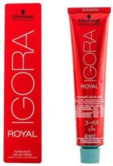 Rode Schwarzkopf Professional Schwarzkopf - Igora - Royal - 3-68 Donkerbruin roodbruin Rood - 60 ml