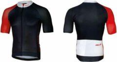 XLC - Fietsshirt Race Korte Mouw - Blauw/Rood - Maat XL