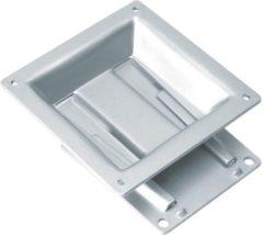 Zilveren ROLINE LCD bevestiging, wandmontage, 20kg, VESA 100