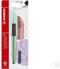 Rode STABILO Flow - Vulpen - COSMETIC Edition - Red Lips + 1 Inkt Cartridge