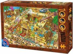 Dtoys Cartoon Pyramide Bouwen Puzzel 1000 Stukjes