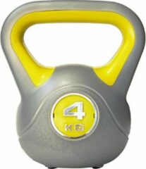 Sportbay Kettlebell - 4 kg - Grijs
