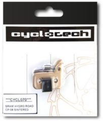 Cyclotech Components Prodisc Metal Remblokken voor Sram HRD, Level Ultimate en Level TLM