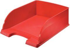 Rode Leitz Jumbo 5233 Brievenbakje Rood A4 700 Vel Polystyreen 25 5 x 35 7 x 10 3 cm