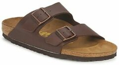 Birkenstock - Arizona - Sportieve slippers - Heren - Maat 45 - Bruin - Dark Brown BF