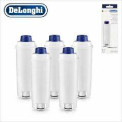 Witte DeLonghi De'Longhi Waterfilter voor ECAM Serie 5 stuks