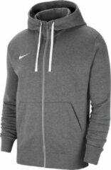 Donkergrijze Nike Nike Fleece Park 20 Vest - Mannen - donker grijs