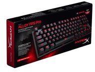Kingston Technology GmbH Kingston Alloy FPS Pro USB QWERTY US Englisch Schwarz Tastatur HX-KB4RD1-US/R1