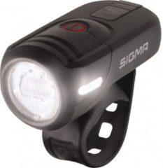 Sigma Koplamp AURA 45 LED werkt op een accu Zwart
