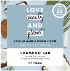 Love Beauty and Planet Shampoo Bar Coconut Water & Mimosa Flower