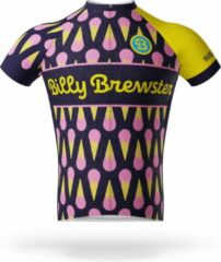 Blauwe Billy Brewster - Lots of Ice Cream wielershirt - Fietsshirt Heren - maat S