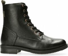 Zwarte Dalen van Van Dalen - Veterboot Leer - Boot lace-up - Black - 38
