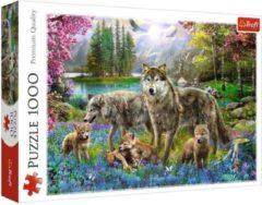 Rode Trefl Legpuzzel Wolvenfamilie: 1000 stukjes