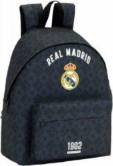 Real Madrid CF Real Madrid Printed Dark Grey Rugzak - 40 cm - Grijs
