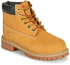 Timberland Kids' 6 Inch Premium Waterproof Boots - Wheat - UK 12 Kids - Tan