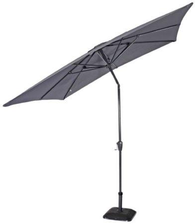 Afbeelding van Grijze Lesliliving Outdoor Living Parasol Libra grijs 2,5x2,5mtr