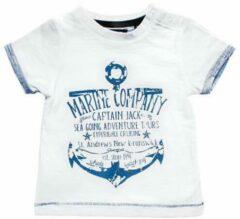 Blue Seven Jongens T-shirt - Wit - Maat 62