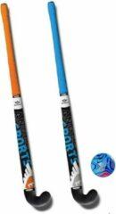 Angel Sports Hockeyset Kunststof 34 Inch - Oranje/Blauw