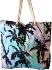 Paarse Nusa Originals - Handgemaakte Strandtas Bali Stijl - Duurzaam - Fairtrade - 66x48cm