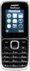 Profoon PM-25 - Dual SIM - Ingebouwde zaklamp en FM-radio - Zwart/Zilver
