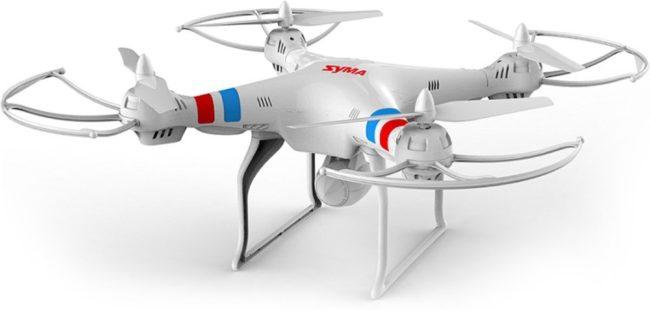 Afbeelding van DisQounts Syma X8C met Camera - Drone - Wit