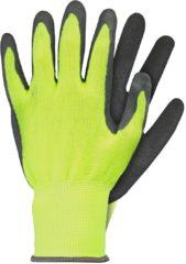 Talen Tools Werkhandschoenen latex geel maat XL