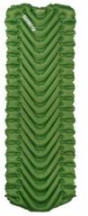Klymit - Static V Long - Slaapmat maat Long - 198 x 58 cm, olijfgroen/groen