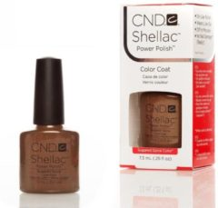 Rode CND Shellac color coat - sugared spice 7.3ml
