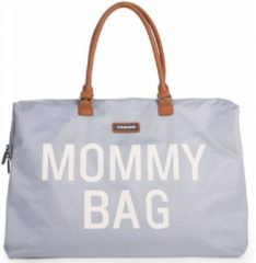 Grijze Childwheels Childhome - Mommy bag groot - GREY OFF WHITE