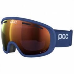 Blauwe POC Fovea Clarity Skibril - Lead Blue/Spektris Orange Fovea Clarity