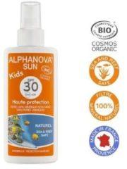 Alphanova Sun Alphanova Natuurlijke zonnebrandsprayvoor kinderen factor 30