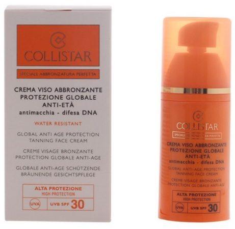 Afbeelding van Collistar Global Anti-Age Protection Zonnebrandcrème - SPF 30 - 50 ml - Voor het gezicht