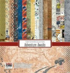 Scrapberry's: Adventure Awaits Paper Collection Set 12*12 (8 sheets) (SCB220610500)