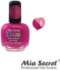 Fuchsia Mia Secret Mood Nagellak Fuchsio Pink