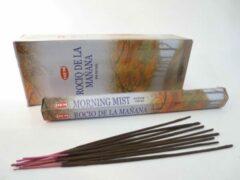 Oranje Mountain-giftshop Morning mist wierook (HEM) los pakje a 20 stokjes