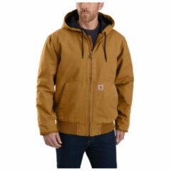 Carhartt - Duck Active Jacket - Vrijetijdsjack maat S, bruin/zwart