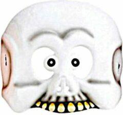 Amscan Masker Spook Junior 18,4 Cm Wit One-size