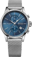 Zilveren BOSS Watches Hugo Boss HB1513441 Jet - Polshorloge - Staal - Zilverkleurig - Ø41 mm