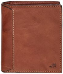DR Amsterdam Waxi Portefeuille RFID 12CC chestnut Dames portemonnee