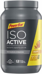 Oranje PowerBar Isoactive sportdrankmix 1,32kg - Energie- & hersteldrank