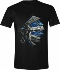 Zwarte Assassin's Creed Heren T-shirt Maat S