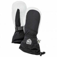 Grijze Hestra - Women´s Heli Ski Mitt - Handschoenen maat 5 zwart/grijs