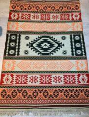 Sunar Home Kelim Vloerkleed Beypazari - Kelim kleed - Kelim tapijt - Turkish kilim - Oosterse Vloerkleed - 120x180 cm