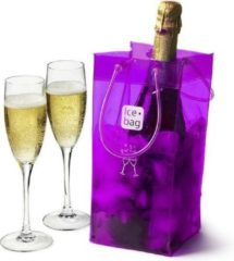 Paarse Ice-bag Ice bag Wijnglas Purple