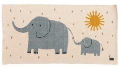 Roommate Geweven Vloerkleed Elephants Junior 70 X 140 Cm