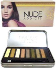 Beige Saffron Oogschaduw Palette - Nude Addicts