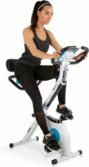 Capital_sports Azura M3 Pro hometrainer flexibele trekbanden riemaandrijving wit