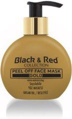 Gouden Black&Red Gold Mask Gezichtsmasker van Black & Red