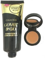 Beige Collection 2000 Collection Foundation & Concealer Duo - 6 Dark